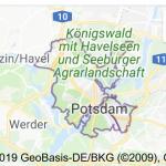 Potsdam geluidsscherm schanskorven